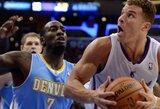 """""""Clippers"""" puolimas nušlavė Denverio krepšininkus (rezultatai)"""