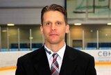 Lietuvos ledo ritulio rinktinės trenerių štabą papildė darbo KHL patirties turintis kanadietis