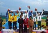 Penkiakovininkai J.Kinderis ir K.Gužauskaitė po dramatiško finišo tapo pasaulio kariškių žaidynių bronzos medalininkais