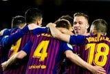 """Užtikrintą revanšą prieš """"Sevilla"""" pasiekusi """"Barcelona"""" žengė į Ispanijos Karaliaus taurės pusfinalį"""