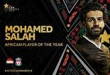 M.Salah antrus metus iš eilės tapo geriausiu futbolininku Afrikoje