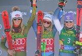 17-metė Naujosios Zelandijos kalnų slidininkė pasaulio taurės sezono starte sukūrė istoriją
