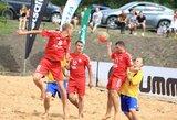Paplūdimio futbolas debiutavo Kupiškyje