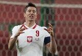 R.Lewandowskis patyrė traumą ir nežais prieš Angliją