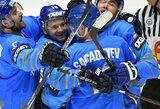 Kazachstano rinktinė – per žingsnį nuo elitinio pasaulio čempionato diviziono
