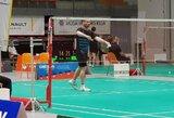 Lietuvos badmintonininkai pradėjo pasaulio reitingo turnyrą Latvijoje