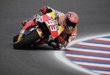 M.Marquezas krito nuo motociklo, bet pirmas pradės Argentinos GP lenktynes