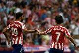"""Du neįskaityti įvarčiai """"Atletico"""" nesustabdė: iškovojo trečią pergalę Ispanijoje"""