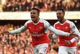 "A.Sanchezas pelnė dublį, o ""Arsenal"" klubas iškovojo pergalę"