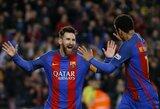 """Kova dėl """"Auksinio batelio"""": L.Messi toliau neužleidžia lyderio pozicijos"""