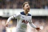 """""""Tottenham"""" viliasi, kad Ch.Eriksenas ilgam laikui pratęs besibaigiantį kontraktą"""