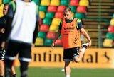 Lietuvos rinktinė jau pluša treniruotėse Slovėnijoje