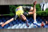Šuolininkas į aukštį R.Stanys Europos čempionate tikisi pagerinti asmeninį rekordą