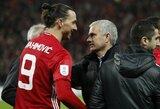 J.Mourinho užstojęs Z.Ibrahimovičius teigia, kad žmonės portugalą kritikuoja ne dėl komandos rezultatų, o kitokios asmenybės