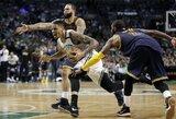 """""""Celtics"""" komanda: """"Mes buvome tokioje pačioje situacijoje anksčiau"""""""