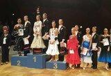 Sportinių šokių varžybose Vokietijoje tarp 2154 porų spindi Lietuvos duetai
