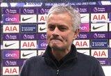 """Klausimo apie G.Bale'ą sulaukęs J.Mourinho atkirto žurnalistei: """"Tu nenusipelnei atsakymo"""""""