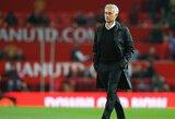 """J.Mourinho išlaiko tą pačią poziciją: """"Mūsų laukia sunkus sezonas"""""""