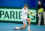 Netikėtumą pateikęs T.Babelis – pagrindiniame vyrų teniso turnyro Turkijoje etape