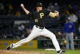"""MLB lygoje – košmariškas D.Neverausko ir """"Pirates"""" vakaras"""