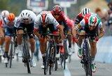 """I.Konovalovo komandos draugas trečiajame """"Giro d'Italia"""" etape – per kelis centimetrus nuo pergalės"""