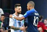 """PSG žvaigždė K.Mbappe įvardijo, kas šiais metais turėtų laimėti """"Ballon d'Or"""" apdovanojimą"""