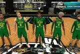FIBA Europos esporto krepšinio čempionate lietuviai įstrigo britų gynyboje