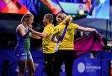 Pasaulio jaunimo imtynių čempionatas K.Gaučaitei baigėsi po pirmosios kovos