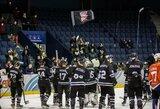 """Po įtikinamos pergalės """"Hockey Punks"""" atsidūrė per tašką nuo lygos lyderių"""