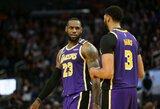 """""""Lakers"""" po pratęsimo laimėjo Denveryje"""