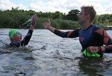 Kuršių marių plaukimo maratonas: brolių triumfas, du rekordai ir įspūdinga A.Guogos serija