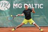 Geriausių pasaulio tenisininkų reitinge L.Mugevičius toliau gerina asmeninį rekordą