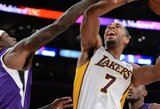 """""""Lakers"""" ekipą toliau retina traumos – iš rikiuotės iškrito X.Henry"""