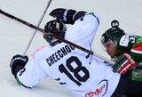 Suomijos klubas KHL pirmenybėse debiutavo pralaimėjimu po pratęsimo (+ kiti rezultatai)
