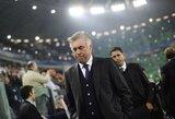 """C.Ancelotti mielai treniruotų """"Roma"""" ar """"Milan"""" klubą"""
