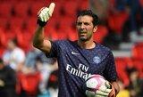 PSG pasiūlymą atmetęs G.Buffonas svarsto metus laiko praleisti be futbolo