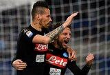 """""""Napoli"""" klubas iškovojo pergalę Romoje"""