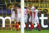 """Vokietijoje – rezultatyvios rungtynės ir """"Monaco"""" pergalė"""