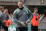 U-21 futbolo rinktinei naujame atrankos cikle vadovaus A.Narbekovas