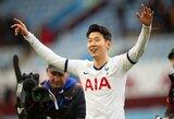 """Skaudi """"Tottenham"""" netektis: iškrito iš rikiuotės rankos lūžį patyręs H.Min Sonas"""