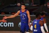 """""""Nuggets"""" talentas antrose rungtynėse iš eilės peržengė 30 taškų ribą"""