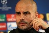 """P.Guardiola: """"Sužaidėme išskirtinį antrąjį kėlinį, bet užmiršome tai padaryti pirmajame"""""""
