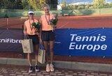 Turnyro Latvijoje dvejetų finale – VTA tenisininkių tarpusavio akistata