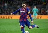 """P.Guardiolos verdiktas: """"Barcelona"""" susidurs su tokiais pačiais sunkumais kaip """"Real"""", kai klubą paliks L.Messi"""