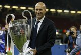 """I.Casillasas atskleidė, kurį trenerį jam primena į """"Real"""" sugrįžęs Z.Zidane'as"""