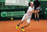 """Po dvi dienas vykusios dvikovos L.Mugevičius pasitraukė iš """"Challenger"""" serijos turnyro Olandijoje"""