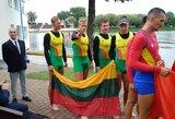 Lietuvos keturvietininkams irkluotojams – Europos jaunimo čempionato sidabras!