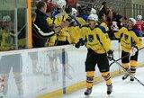 Kėdainių LRK įsitvirtino antroje atvirojo Lietuvos ledo ritulio čempionato vietoje