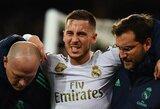 """""""Real"""" nuostolis: E.Hazardas praleis Ispanijos Supertaurės mūšį su """"Valencia"""""""
