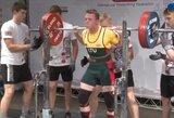 Europos jaunimo jėgos trikovės čempionate Ž.Margevičius – 11-as